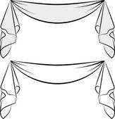 Decorative sash  — Stock Vector