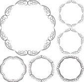 Circular frames — Stock Vector