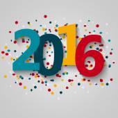 Happy 2016 new year — Stock Vector
