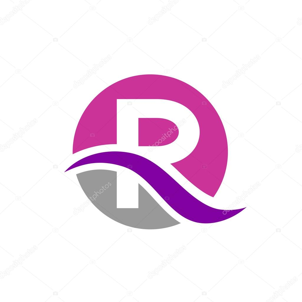 Letter R logo design — Stock Vector © Loca #71759089