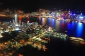 Hong Kong, night view — Stock Photo