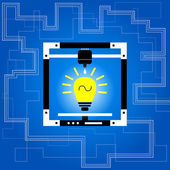 Idea innovation concept — Stock Vector