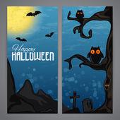 Magic Halloween flayer — Stock Vector