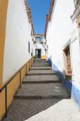 Ruelle à Obidos Portugal — Stock fotografie