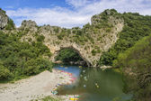 Pont d'arc Ardèche France — Stockfoto