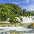 Krka National Park Croatia waterfall — Stock Photo #63142689