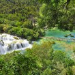 Krka National Park Croatia waterfall — Stock Photo #63143091