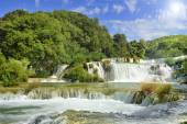 Krka National Park Croatia waterfall — Stock Photo