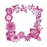 Decorative Floral Frame — Stock Vector #63413615