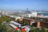 Port vell, em barcelona, espanha — Fotografia Stock