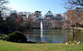 Crystal Palace in El Retiro Park in Madrid, Spain — Fotografia Stock