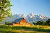 Mormon scheune — Stockfoto