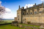 Stirling Castle from the gardens — Stock Photo