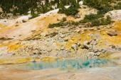 Sulphur springs and mud baths — Stock Photo