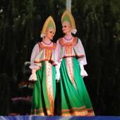Orel, Rosja, 4 sierpnia 2015: Powrót Orlovskaya festiwal folklorystyczny, — Zdjęcie stockowe