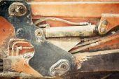 Hydraulic machine — Stock Photo