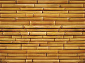 Texture bamboo wall — Stock Photo