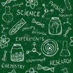 Scientific school board seamless pattern — Stock Vector #53086531