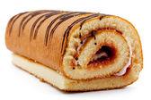 Roll cake — Stock Photo