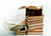 書籍のスタック — ストック写真
