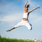 Женщина фитнеса — Стоковое фото