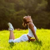 健身女人 — 图库照片