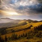 mountain sunset — Stock Photo #54991021