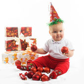 Christmas baby — Стоковое фото