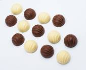 Candy on white background  — Stock Photo