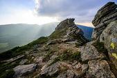 山在夏天 — 图库照片