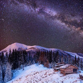 Christmas magic night — Stock Photo