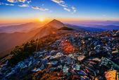 壮观的日出 — 图库照片