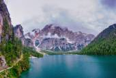 Lake between mountains  — Stock Photo