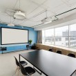 Projector room in stylish office — Stock Photo #54067329