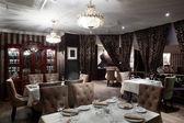 European restaurant in bright colors — Foto Stock