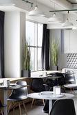 Interno della moderna cucina europea — Foto Stock