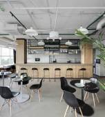 İç modern avrupa mutfağı — Stockfoto