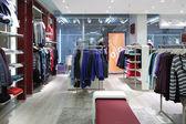 Brand new interior of cloth store — Stock Photo