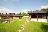 Mooi huis in Europese stijl — Stockfoto
