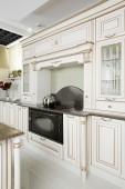 Interior of modern european kitchen — 图库照片