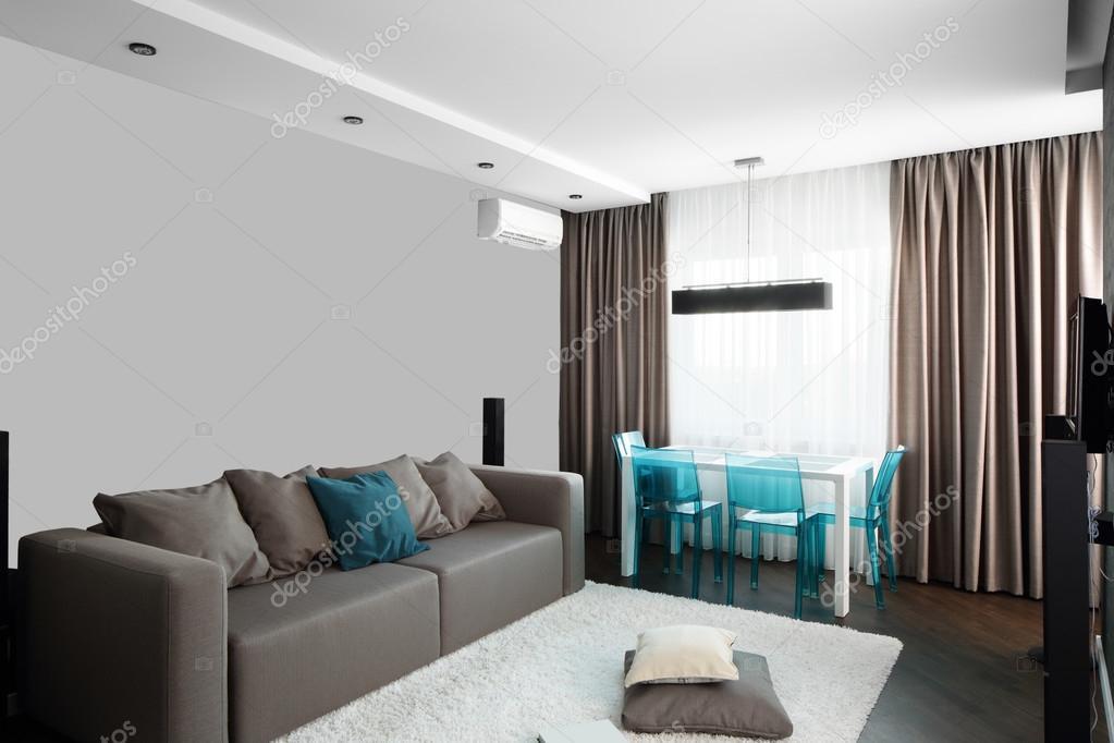 Bright Interior Of Living Room Stock Photo 169 Fiphoto 54067267
