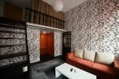 Bright interior of living room — 图库照片