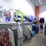 Brand new interior of kids cloth store — Stock Photo #60279183