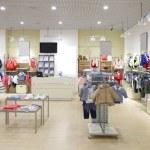 Brand new interior of kids cloth store — Stock Photo #60279307