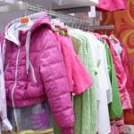 Brand new interior of kids cloth store — Stock Photo #60279387