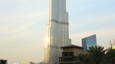 Dubai Burj Khalifa — Stockvideo