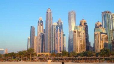 Dubai marina beach — Vidéo