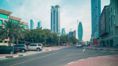 Dubai business area — Vídeo stock