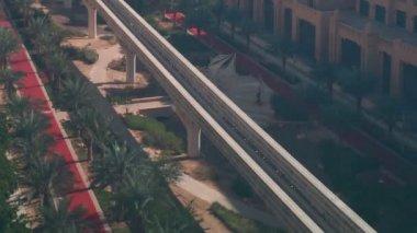 Street in Dubai — Stock Video