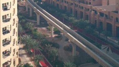 Metro in Dubai — Stock Video